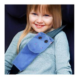 Накладка на ремень безопасности детская «Бегемотик»