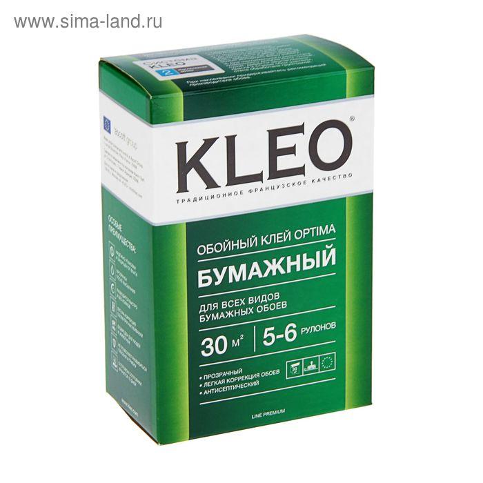 Клей для любых бумажных обоев Kleo Optima 5-6, сыпучий, 120 гр