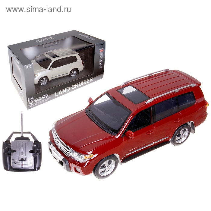 Машина на радиоуправлении Toyota Land Cruiser 200 HQ20135, масштаб 1:14