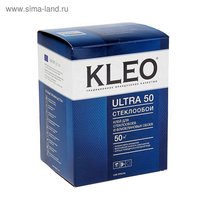 Клей для стеклообоев и флизелиновых обоев Kleo Ultra 50, сыпучий, 500 гр