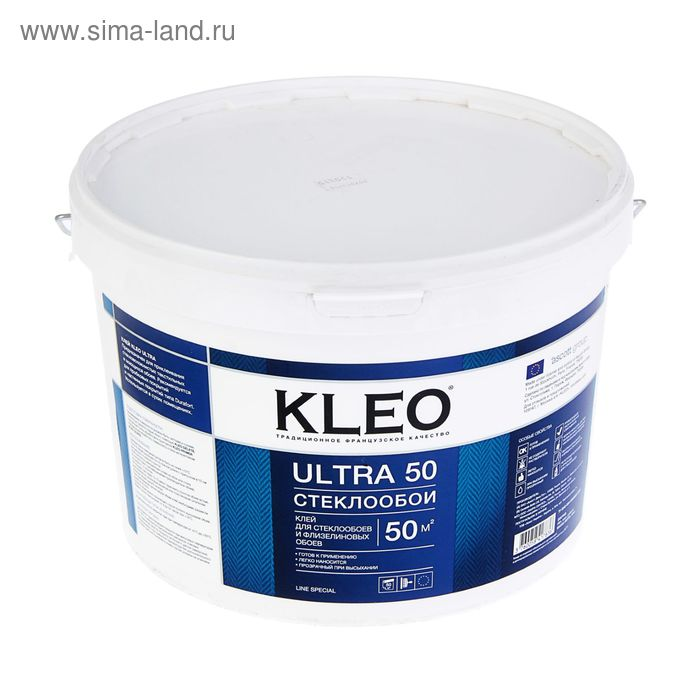 Клей для стеклообоев Kleo Ultra 50, готовый, 10 кг