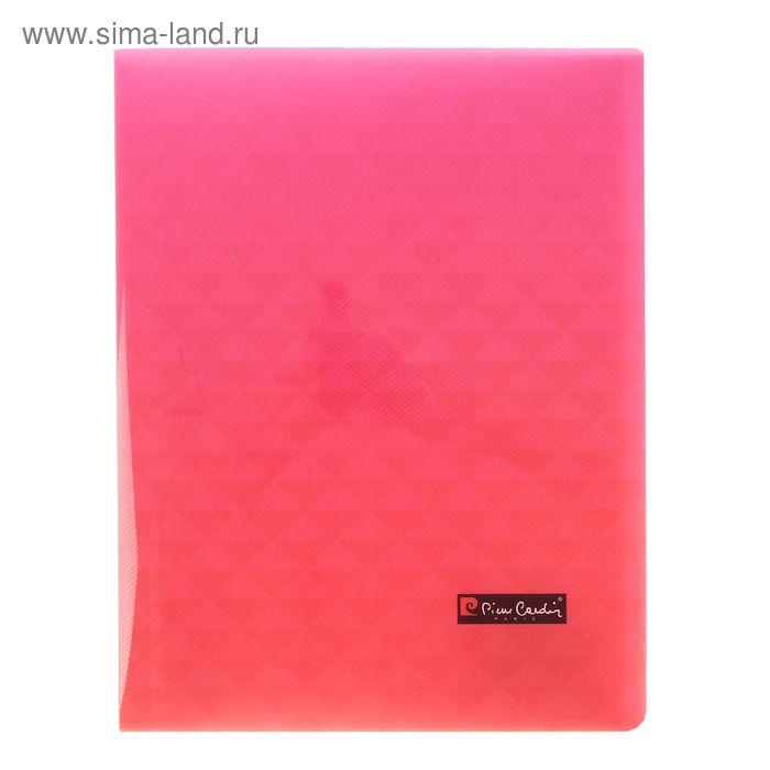 Папка с 20 прозрачными вкладышами А4, 500мкм, Pierre Cardin Geometrie Pink