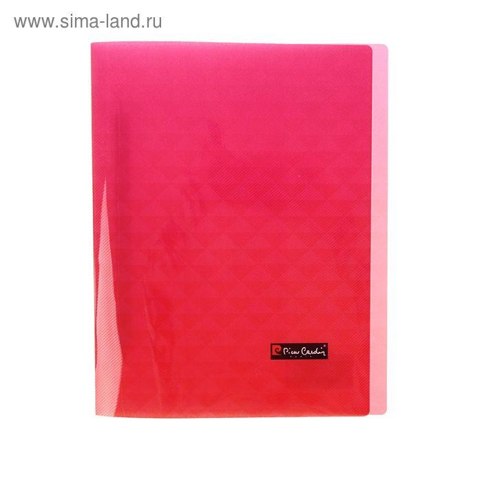 Папка А4 с пружинным скоросшивателем Pierre Cardin Geometrie Pink, 500мкм