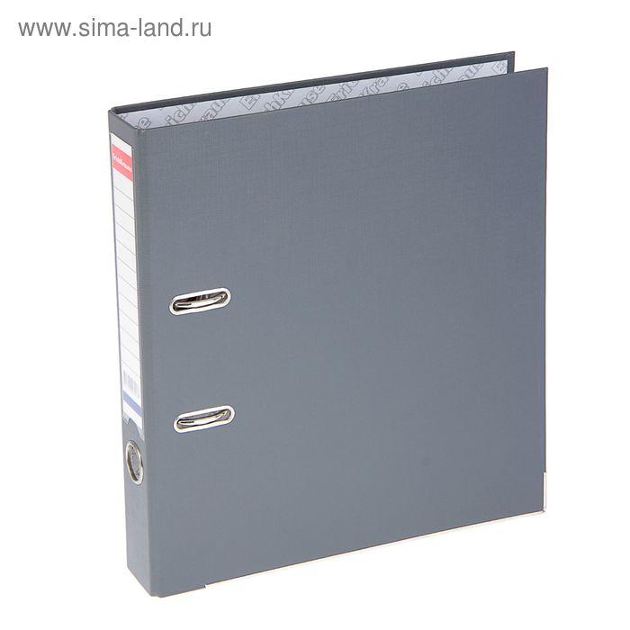 "Папка-регистратор А4, 50мм разборный ""Бизнес"" серый EK 721"