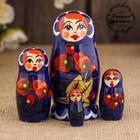 """Матрешка """"Ягодки"""" 4 куклы, художественная роспись"""
