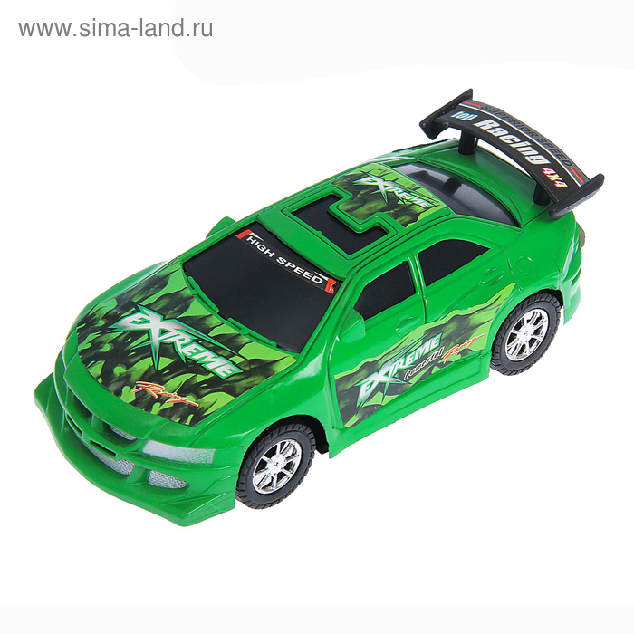"""Машина инерционная """"Спорткар"""", цвета МИКС"""