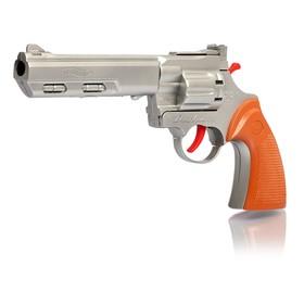 """Пистолет """"Рейнджер плюс голд"""", стреляет 8-ми зарядными пистонами, цвета МИКС"""