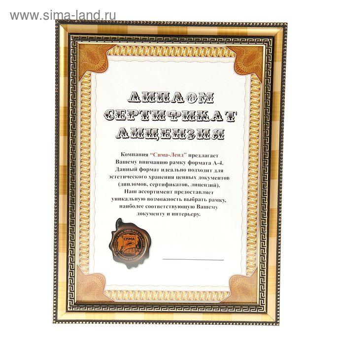 "Фоторамка формат А4 ""Лютеций"" полоски"