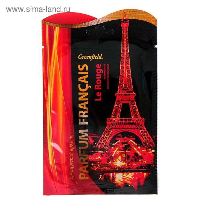 Ароматизатор-освежитель воздуха Гринфилд Parfum Francais Le Rouge