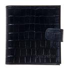 Визитница V-46-101, 2 ряда, 16 листов, цвет чёрный