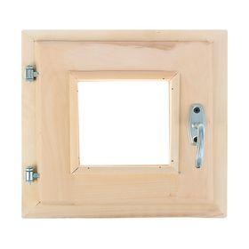 Окно 30 × 30 см, двойное стекло