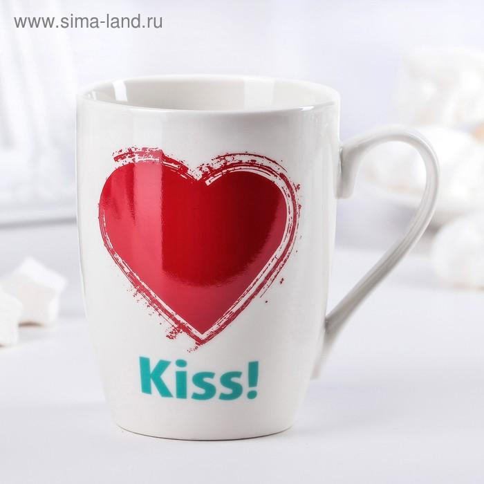 """Кружка 350 мл """"Первый поцелуй"""""""