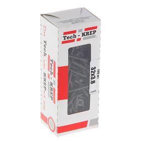 Саморезы по дереву TECH-KREP, ШСГД, 3.8х32 мм, оксид, крупный шаг, 200 шт. Ош