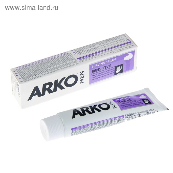 Крем для бритья ARKO Sensitive, 65 гр.