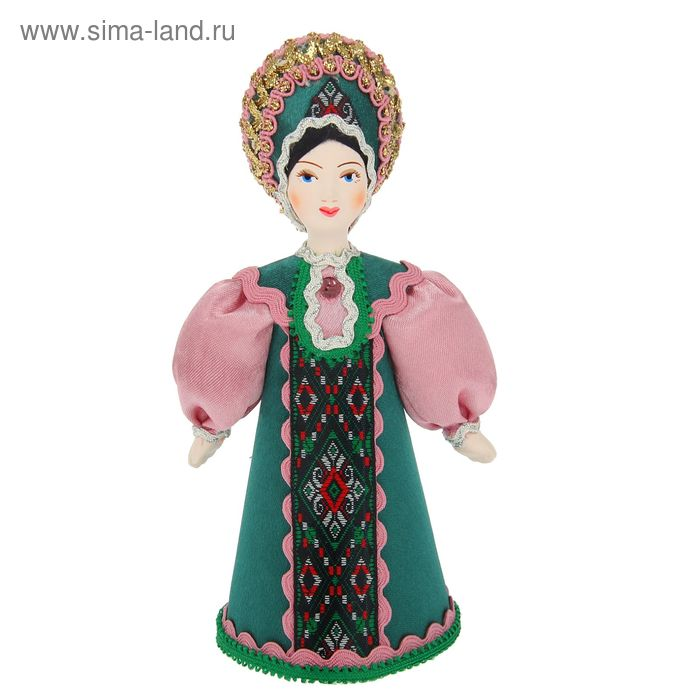 """Сувенирная кукла """"Девушка в традиционном костюме"""""""