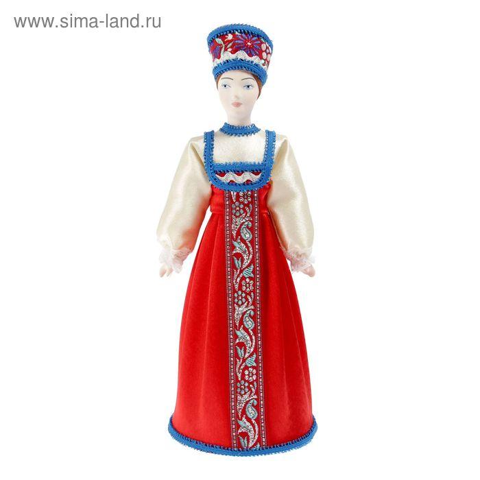 """Сувенирная кукла """"Аксинья. Россия"""""""