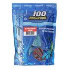 Прикормка зимняя увлажненная «100 Поклёвок» ice лещ красный, вес 500 г