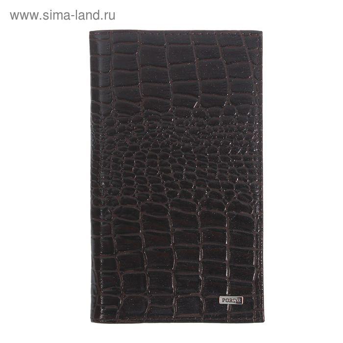 Визитница, 3 ряда, 108 карточек, коричневый флотер