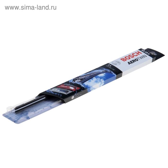 """Щётка стеклоочистителя Bosch Aerotwin, 19""""/47.5 cм, бескаркасная, под крючок"""