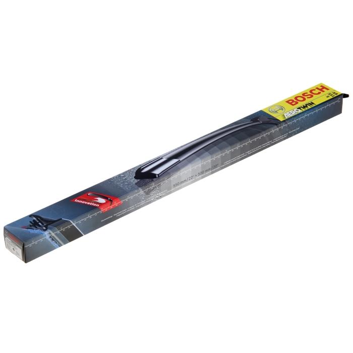"""Щётки стеклоочистителя Bosch Aerotwin, 2 шт., 22""""/55 cм, 20""""/50 см, бескаркасные, под крючок"""