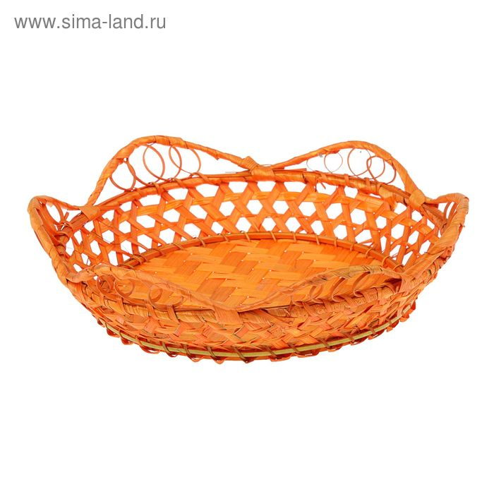 "Корзина ""Лепестки"" оранж"