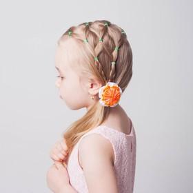 Резиночки для плетения, набор 200 шт., крючок, крепления, пяльцы, аромат цветов, цвет салатовый