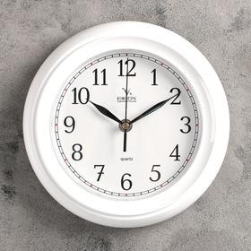"""Часы настенные классические """"Вега"""", белые"""