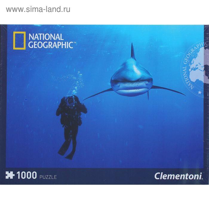 "Пазл ""National Geographic. Дайвинг в Карибском море"", 1000 элементов"