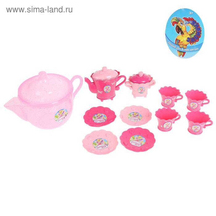 Набор посуды в чайнике, 11 предметов