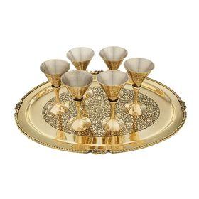 """Сувенирный набор посуды """"Эстель"""", 7 предметов"""