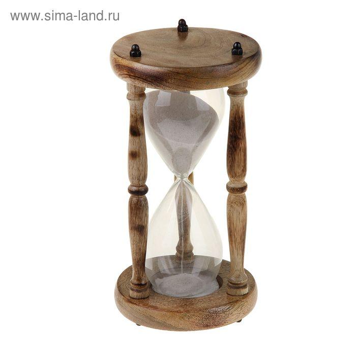 """Сувенир песочные часы (15 мин) """"Дворец"""""""
