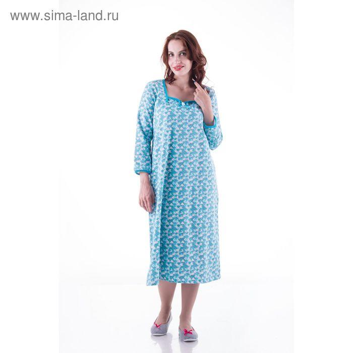 Сорочка женская сн211 МИКС, р-р 58