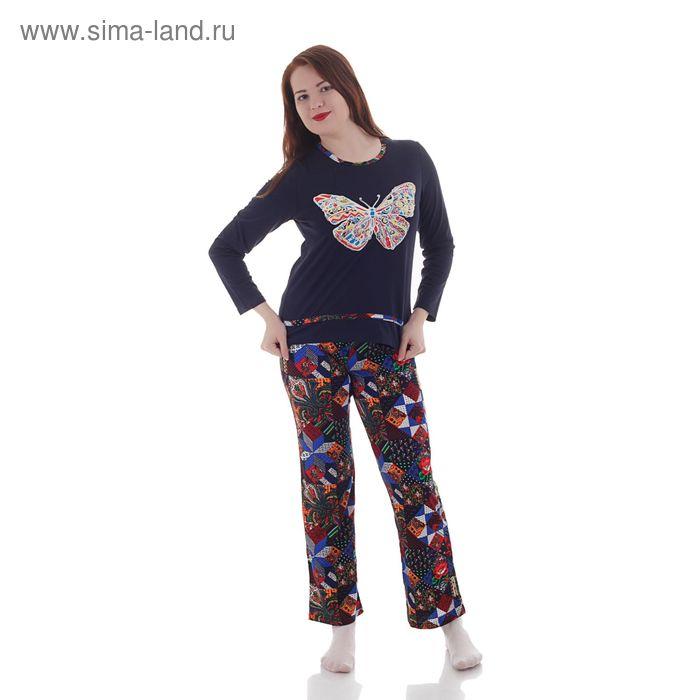 Комплект женский (фуфайка, брюки), размерр 48 (96), 205ХР1529П