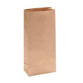 Пакет крафт бумажный фасовочный,14 х 9,5 х 30,5 см