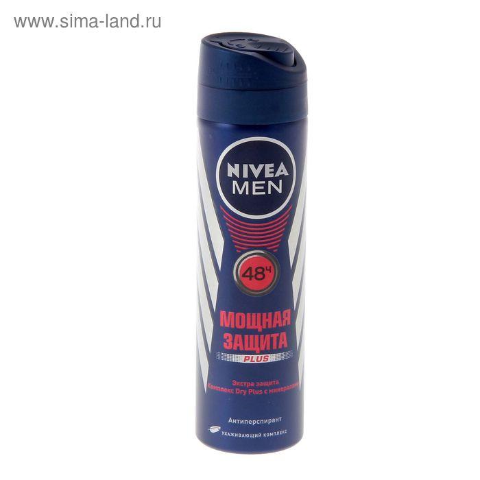 "Дезодорант-антиперспирант Nivea for Men ""Драй"", аэрозоль, 150 мл"
