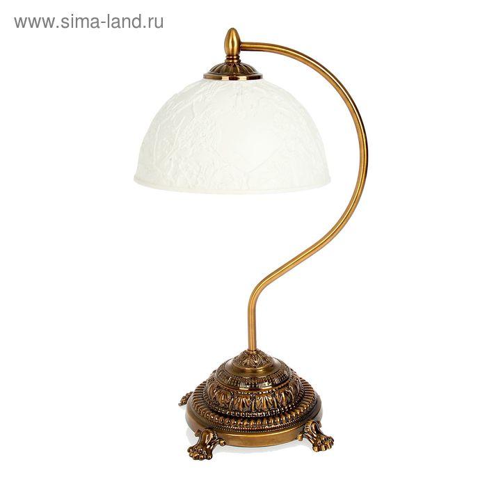 """Лампа настольная """"Скворец"""", керамический абажур"""