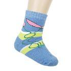 Носки детские махровые ES-11, цвет синий, размер 16-18