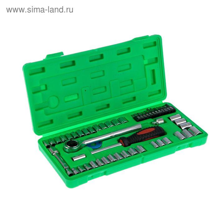Набор инструмента TUNDRA basic, универсальный в кейсе 54 предмета