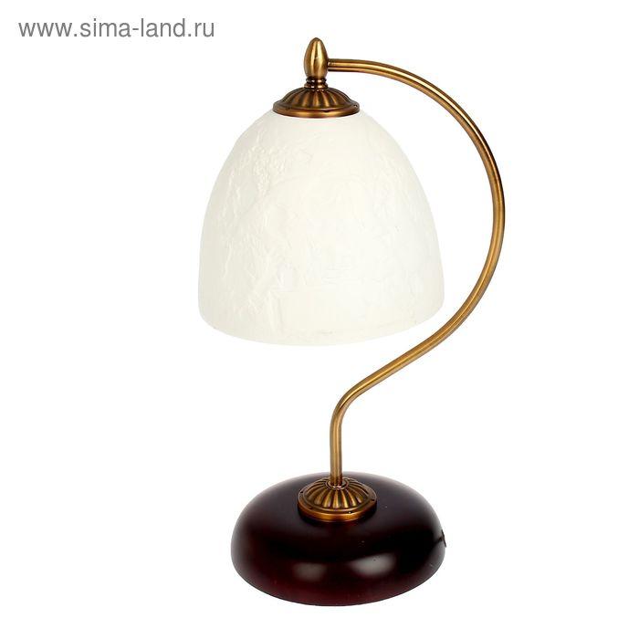 """Лампа настольная керамический абажур """"Подружки"""""""