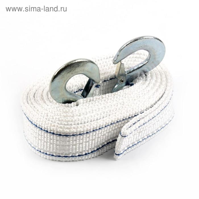 Трос-лента буксировочный TORSO Standart, 4,5 м, 10 т, 2 крюка