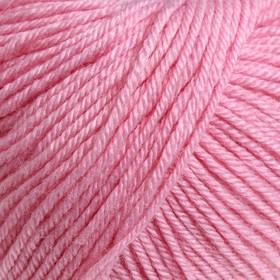 """Пряжа """"Baby Wool"""" 40% шерсть, 40% акрил, 20% бамбук 175м/50гр (194 розовый)"""