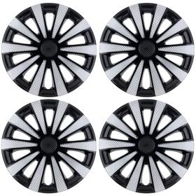 "Колпаки колесные R16 ""Карат"" Super Black, набор 4 шт."