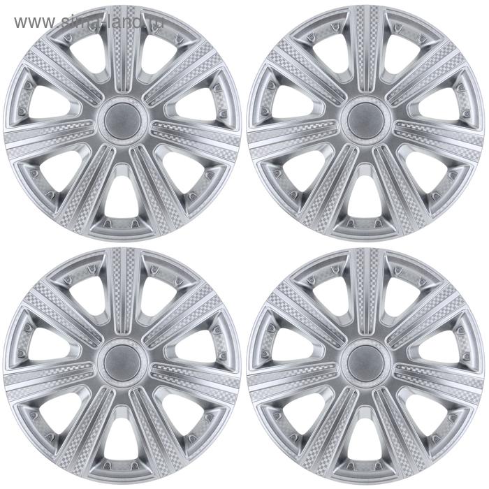 Колпаки колесные R15 DTM, набор 4 шт.