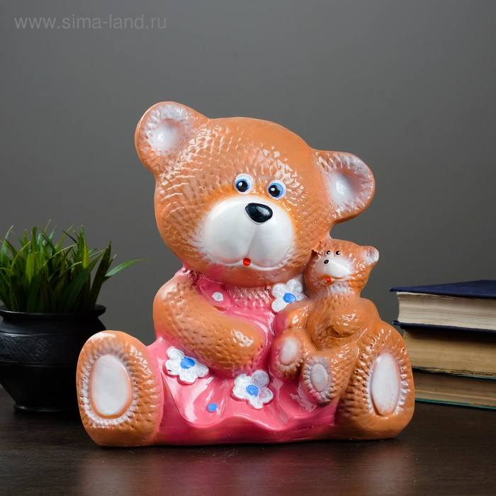 "Копилка ""Мишка с игрушкой"" микс"