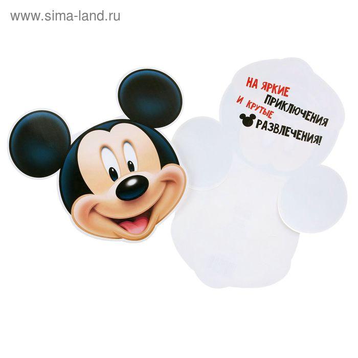 """Открытка-конверт для денег """"От Микки"""": Микки Маус"""