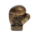 """Сувенир """"Боксерская перчатка"""" бронза 5.5 × 7 × 8.5 см"""