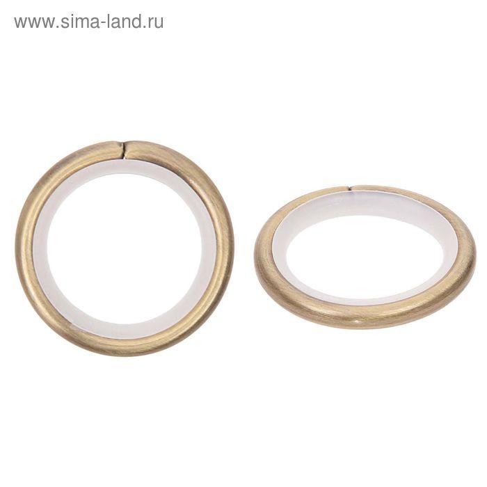 Кольцо для карниза, d=16мм, цвет старое золото