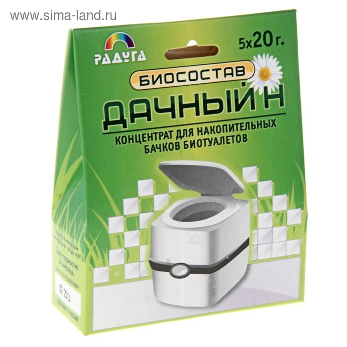 Биосостав Дачный-Н для накопительных баков 5х20г