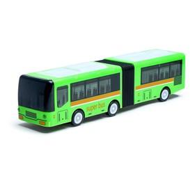 """Автобус """"Гармошка"""", световые и звуковые эффекты, работает от батареек, цвета МИКС"""