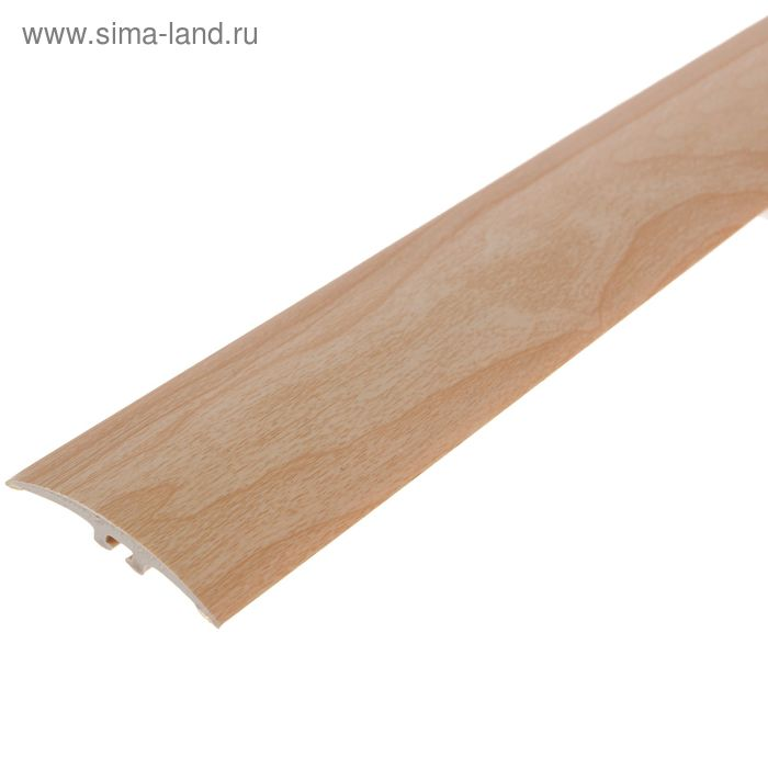 Порог ПВХ Идеал разноуровневый с дюбель-гвоздями 42 мм (0,9м) (261 клен)